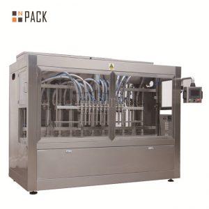 Аутоматска машина за пуњење течних / пасте / соса / меда са 8 млазница за пуњење