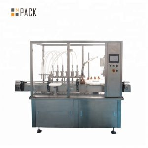 Иновативна аутоиндустријска машина за пуњење козметичких крема, лосиона, шампона, уља