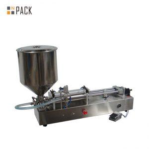Веома популарна машина за пуњење сладоледа / машина за пуњење двоструких глава / машина за пуњење ноктију